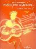 Comme des chansons... - Volume 2 Thierry Tisserand laflutedepan.com