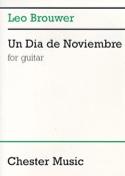 Un Dia de Noviembre Leo Brouwer Partition Guitare - laflutedepan.com