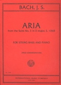 Aria from the Suite n° 3 in D major - String bass laflutedepan.com