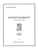 Divertissement -Partition + parties Roger Boutry laflutedepan.com
