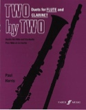 Two by Two - Flute clarinet Paul Harris Partition laflutedepan.com