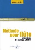 Méthode pour Flûte Henry Altès Partition laflutedepan.com