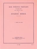 Menuet des Pages Eugène Bozza Partition Violon - laflutedepan.com