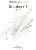 Rossiniana n° 1 op. 119 - Parties + Conducteur laflutedepan.com