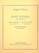 8 Etudes - Contrebasse Eugène Bozza Partition laflutedepan.com