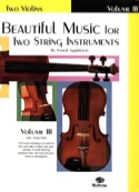 Beautiful Music For 2 Violons Volume 3 Partition laflutedepan.com