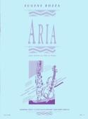 Aria - Violon ou flûte Eugène Bozza Partition laflutedepan.com