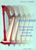 Friandises - Harpe - Bernard Andrès - Partition - laflutedepan.com
