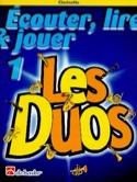 Ecouter Lire et Jouer - Les Duos Volume 1 - 2 Clarinettes laflutedepan.com