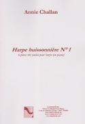 La Harpe Buissonnière N° 1 Annie Challan Partition laflutedepan.com