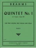 Quintet n° 1 in F major op. 88 -Parts BRAHMS laflutedepan.com