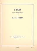 Lied – cor anglais et piano Eugène Bozza Partition laflutedepan.com