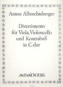 Divertimento in C-Dur -Vla Vc Kb -Stimmen laflutedepan.com