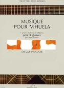 Musique pour vihuela Diego Pisador Partition laflutedepan.com