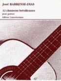 12 Chansons Brésiliennes - Guitare Jose Barrense-Dias laflutedepan.com