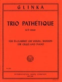 Trio Pathétique in D minor – Clarinet bassoon piano - laflutedepan.com