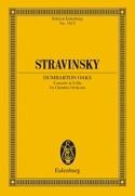 Dumbarton Oaks Concerto Es-Dur - Partitur STRAVINSKY laflutedepan