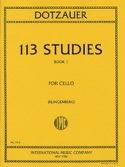 113 Studies - Book 1 1-34 Friedrich Dotzauer laflutedepan.com