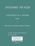 Concerto G-Dur Rv 545 - Oboe, Fagott, Streicher et Bc laflutedepan.com
