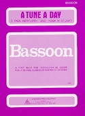 A Tune A Day - Bassoon Paul C. Herfurth Partition laflutedepan.com