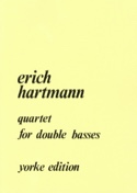 Quartet for double basses Erich Hartmann Partition laflutedepan.com