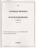 40 Studi D'orchestra Volume 1 - Contrabbasso laflutedepan.com