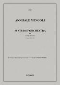 40 Studi d'orchestra, Volume 2 - Contrabbasso laflutedepan.com