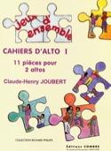 Cahiers D'alto 1 Claude-Henry Joubert Partition laflutedepan.com
