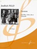 Nocturne - Parties + cond. Jindrich Feld Partition laflutedepan.com