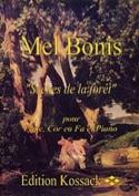 Scènes de la Forêt Mel Bonis Partition Trios - laflutedepan.com