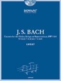 Concerto 2 Violons en ré mineur, BWV 1043 BACH laflutedepan.com