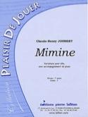 Mimine Claude-Henry Joubert Partition Alto - laflutedepan.com