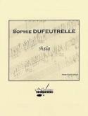 Asia Sophie Dufeutrelle Partition laflutedepan.com