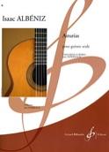 Asturias Horreaux Isaac Albeniz Partition Guitare - laflutedepan.com
