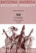 Air BACH Partition Contrebasse - laflutedepan.com