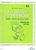 La Dictée en Musique - Corrigé - Volume 4 laflutedepan.com