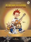 Je Deviens Guitariste - Volume 1 TISSERAND Partition laflutedepan.com