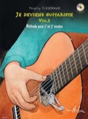 Je Deviens Guitariste Volume 2 TISSERAND Partition laflutedepan.com