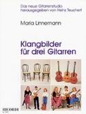 Klangbilder für 3 Gitarren Maria Linnemann Partition laflutedepan.com