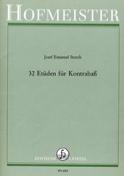 32 Etüden für Kontrabass Josef Emanuel Storch laflutedepan.com