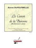 Le Canon de la Baronne - Sophie Dufeutrelle - laflutedepan.com