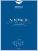 Concerto pour 2 Violons Op. 3 N° 8 Rv 522 en la Mineur laflutedepan.com