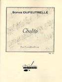 Cholita Sophie Dufeutrelle Partition Quintettes - laflutedepan.com