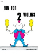 Fun for 2 Violins, Volume 1 Marianne Rygner Partition laflutedepan.com