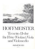 Terzetto D-Dur -Flöte Viola Cello laflutedepan.com