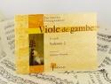 Viole de gambe - 2ème Cycle - Volume 2 Jérôme Hantaï laflutedepan.com