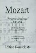 Prager Sinfonie KV 504 Stimmen) -Flöte Violine Violoncello Klavier laflutedepan.com