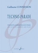 Techno-Parade Guillaume Connesson Partition Trios - laflutedepan.com
