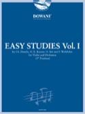 Easy Studies, Volume 1 Partition Violon - laflutedepan.com