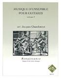 Musique D'ensemble Vol 2 Renaissance) Partition laflutedepan.com